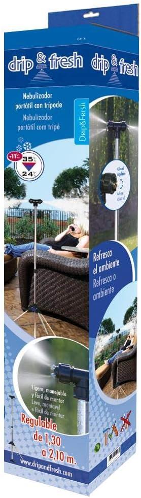 Drip&Fresh C5116 - Nebulizador Portátil 1, 3 m - 2, 1 m: Amazon.es: Jardín