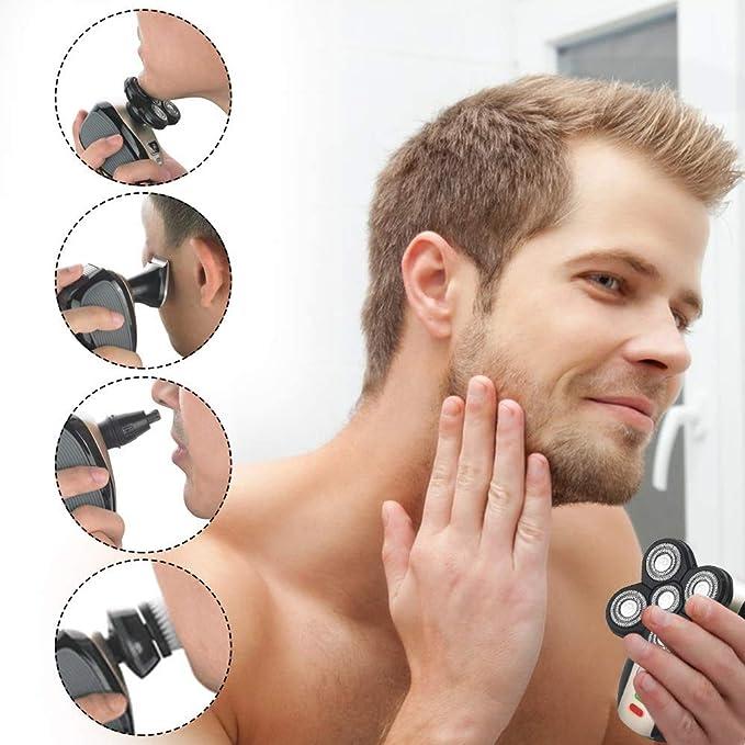 Kit de aseo de afeitadora 5 en 1 para hombres: Amazon.es: Salud y ...