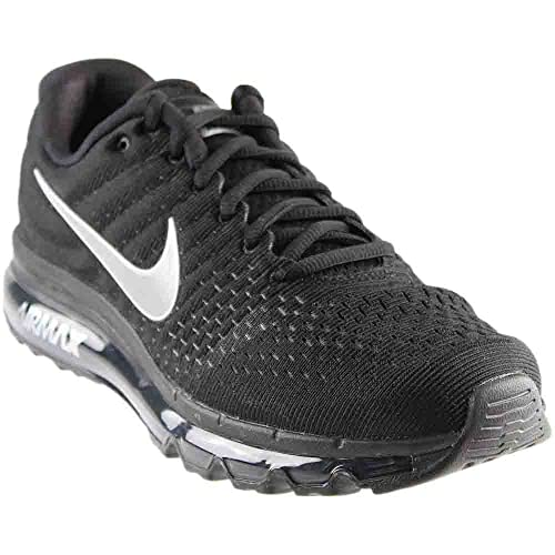 45ce3b663bfa Nike Womens Air Max 2017 Running Shoes Black White Anthracite 849560-001  Size 8.5  Amazon.in  Shoes   Handbags