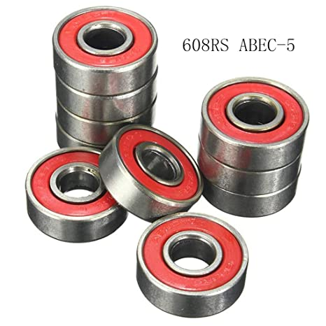 DAXINYANG 10 UNIDS Rodamiento de Bolas 608RS ABEC-5 Impresoras 3D ...