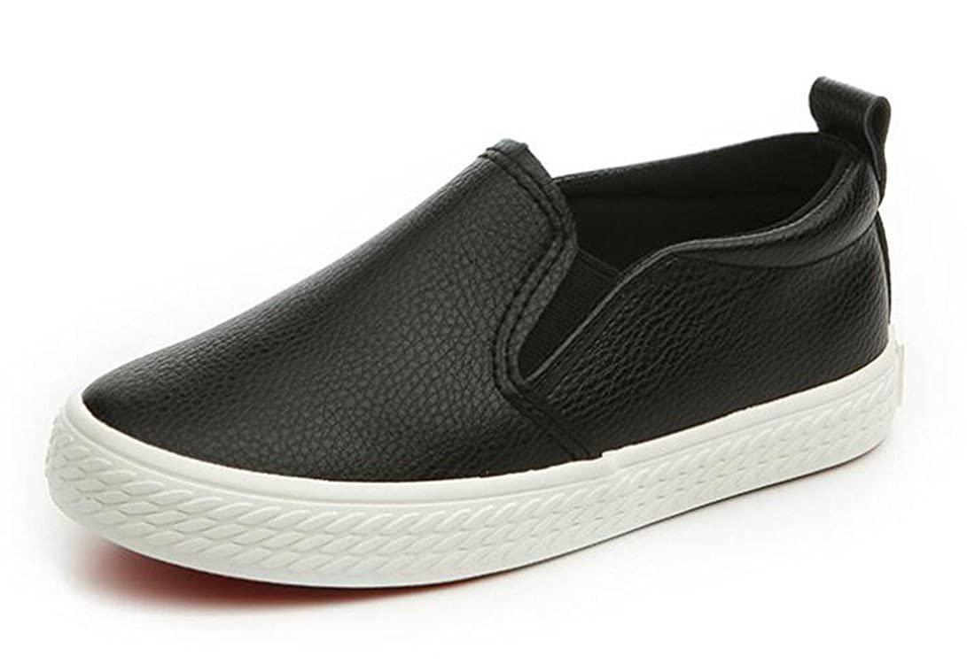 Toddler//Little Kid Bumud Boys Girls Slip-on Loafers Oxford Shoes