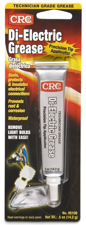 CRC 05109 0.5 Ounces Technician Grade Di-Electric Grease with Precision Tip Applicator