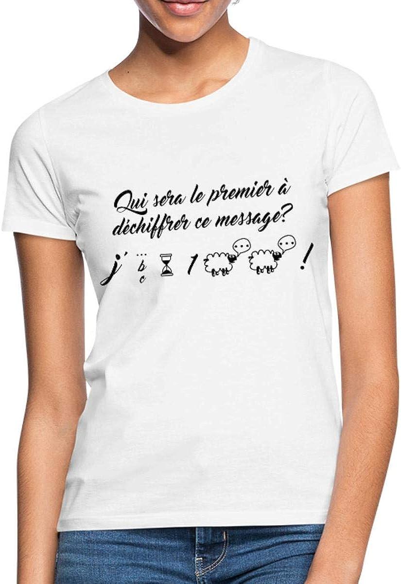 Grossesse Annonce J'Attends Un Bébé T Shirt Femme