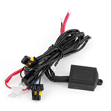 61e24p7b oL._SY463_ amazon com uxcell 35w 55w 12v hid 9004 h4 9007 h13 hi lo  at readyjetset.co