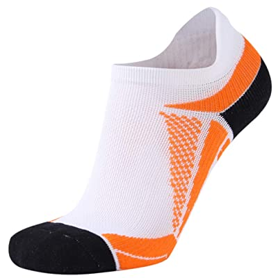 Men's Tennis Socks, HAPYCEO Womens Tennis Active ress Running Gear Moisture Wickin Intensive Performance Athletic Ankle Socks, Ideal for Cycling, Hiking, 1 Pair, White: Clothing