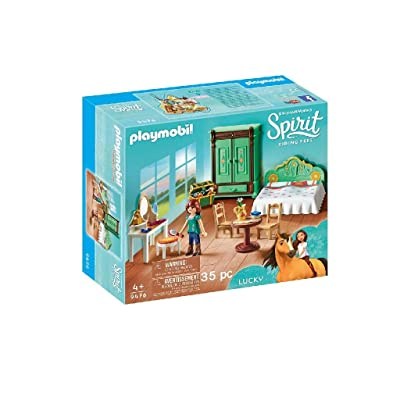 PLAYMOBIL Spirit Riding Free Lucky's Room: Toys & Games