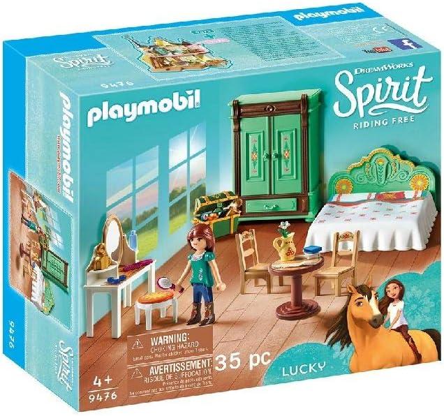 PLAYMOBIL DreamWorks Spirit Habitación de Fortu, a Partir de 4 Años (9476)