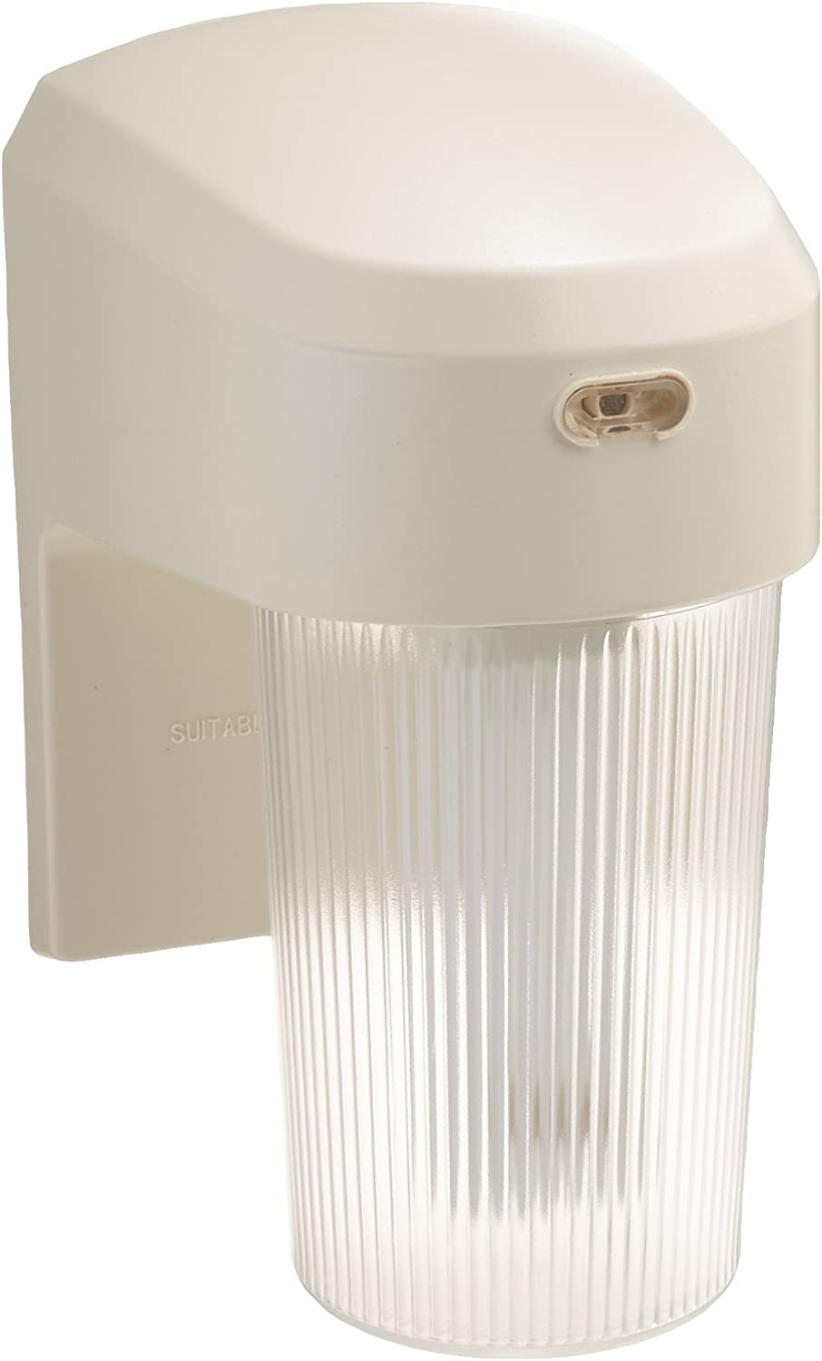 ALL-PRO FE13PCW, 13W Fluorescent Entry Light With Photo Control, White