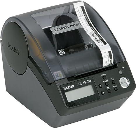 Amazon.com: Brother QL-650TD Label Printer con el tiempo ...