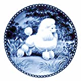 Poodle - Toy / Lekven Design Dog Plate 19.5 cm /7.61 inches Made in Denmark NEW with certificate of origin PLATE #7130