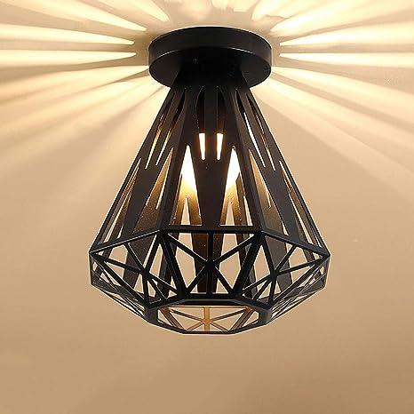 Luces de Techo vintage Loft Industrial Lámparas de Techo de ...