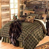 Alpine Bear Bed Set - Queen - Lodge Bedding Linens