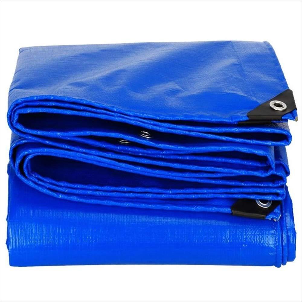 ZHULIAN Wasserdichtes Tuch, PVC-Dickes staubdichtes Anti-Verschleiß-Außenmarkise-Rand-Segeltuch