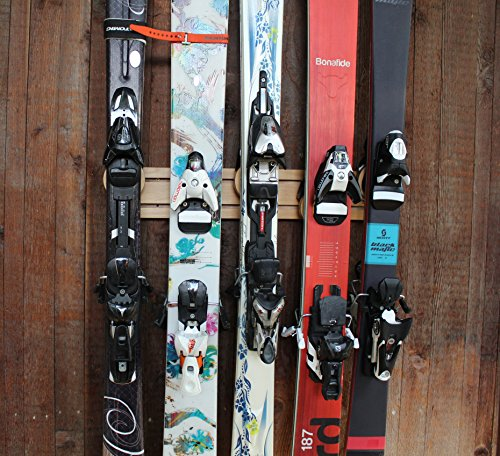 Totti Button Ski Rack (24 Inch, 5 Position)