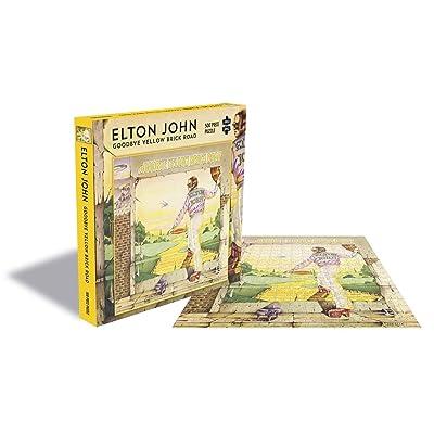 Elton John Goodbye Yellow Brick Road - 500 Piece Jigsaw Puzzle: Home & Kitchen