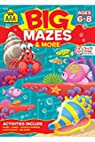 img - for Big Mazes & More Workbook Ages 6-8 book / textbook / text book