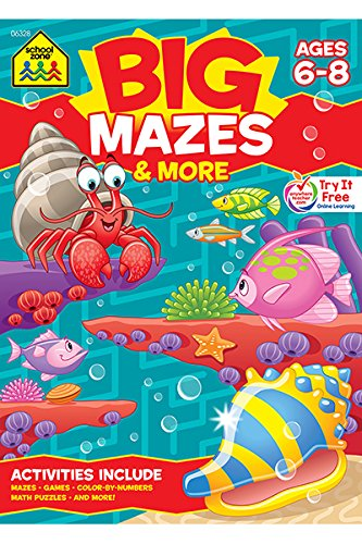 Big Mazes & More: Ages 6-8