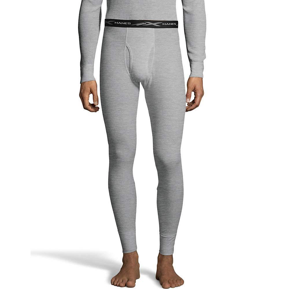 Hanes Mens Waffle Knit Thermal Pant