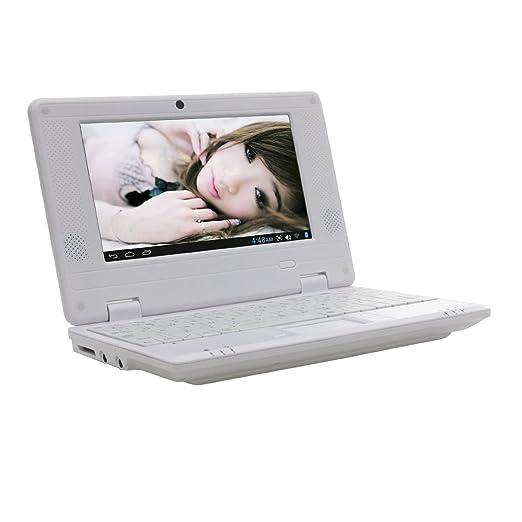 New 4Gb 7 Inch Black Mini Laptop Netbook. Android 2.2. Latest Software. Latest Build., [Importado de UK]: Amazon.es: Informática