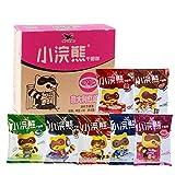 China food co. LTD. 整箱批发 80后的回忆Tongyi China Snacks(统一小浣熊 干脆面 30袋{混合味拼}Crispy Instant Noodles)捏碎面 干吃面