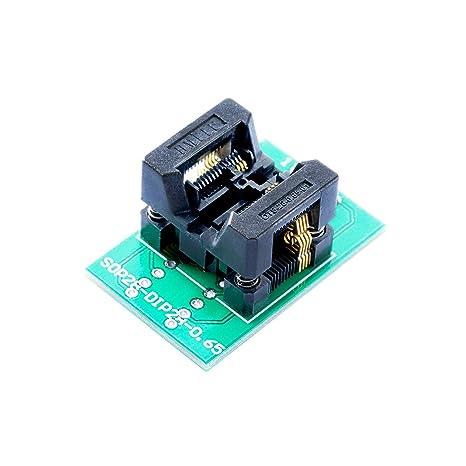 Amazon com: Programmer Adapter TSSOP8, Pitch 0 65mm OTS-8(28
