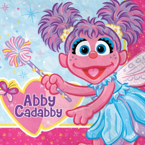 Abby Cadabby Lunch Napkins (16ct) by Sesame Street