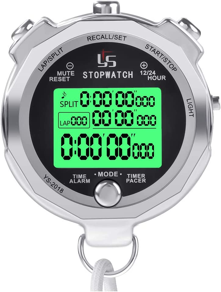 Precision 1000 SERIE cronometro LAP TIMER atletica palestra Cronometro Orologio RRP £ 10