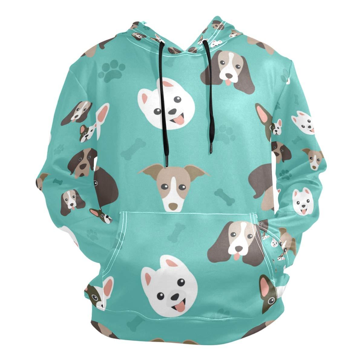 Multicolor XLarge Arilce Dog Pattern Collection,3D Pattern Sweaters Fashion Hoodies Sweatshirts Unisex,Men Women Boy Girl Kid Youth
