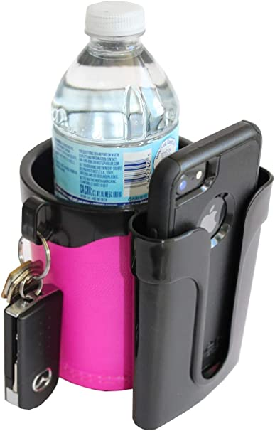 CanTainer Bicycle Can to Go Beverage//Drink//keys//phone Holder-fits on Handlebars