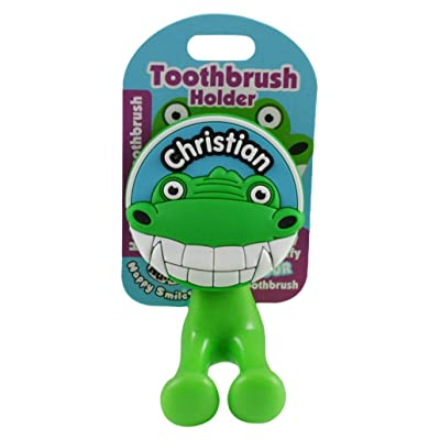 John Hinde My Name Christian Toothbrush Holders: Toys & Games