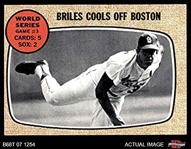 1968 Topps 153 1967 World Series