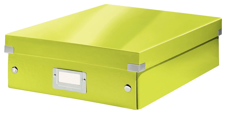 Leitz Eisblau 60580051 Mittelgro/ße Organisationsbox Click /& Store