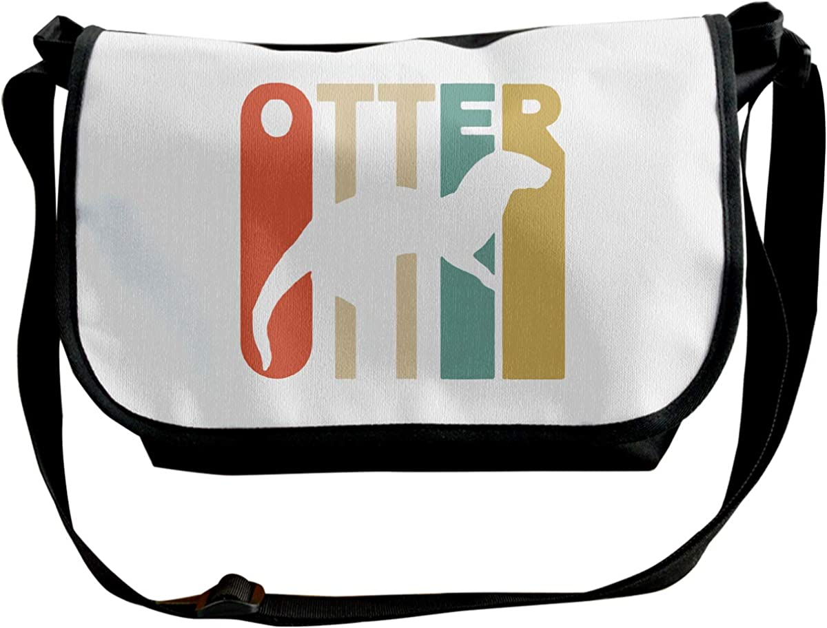Style Otter Unisex Single Shoulder Pack Funny Messenger Bag