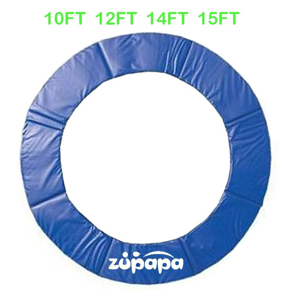 10FT 12 FT 14 FT 15 FT Zupapa ® Trampoline pad replacement Surround Spring Cover Padding color Blue 8FT-PAD-BL
