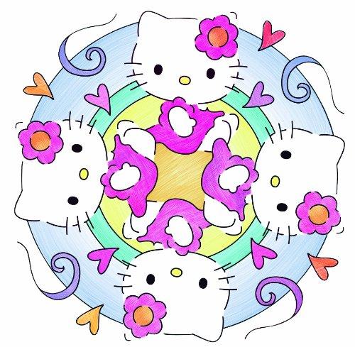 Ravensburger Hello Kitty Mandala Designer Amazoncouk Toys  Games