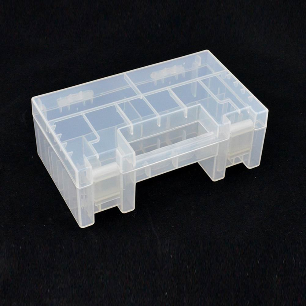 QIANDUOO Plastic Battery Case//Organizer//Holder//Container Battery Storage Box AAA//AA//9V