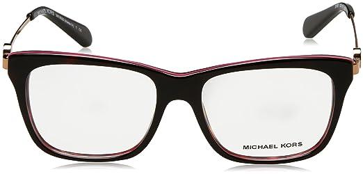 0195bd9717e Michael Kors ABELA IV MK8022 Eyeglass Frames 3132-52 - Tortoise   Fuschia  at Amazon Women s Clothing store