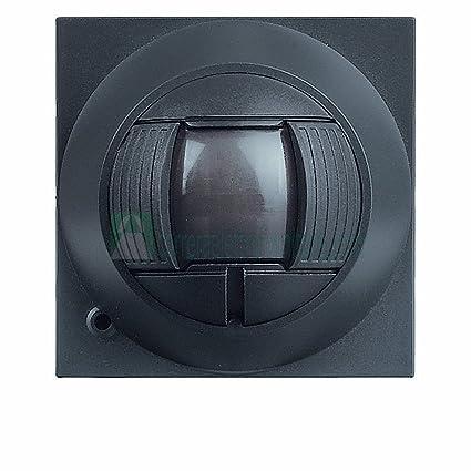 Legrand Vela 682718 Sensor de movimiento por infrarrojos IR antirrobo alarma Antracita
