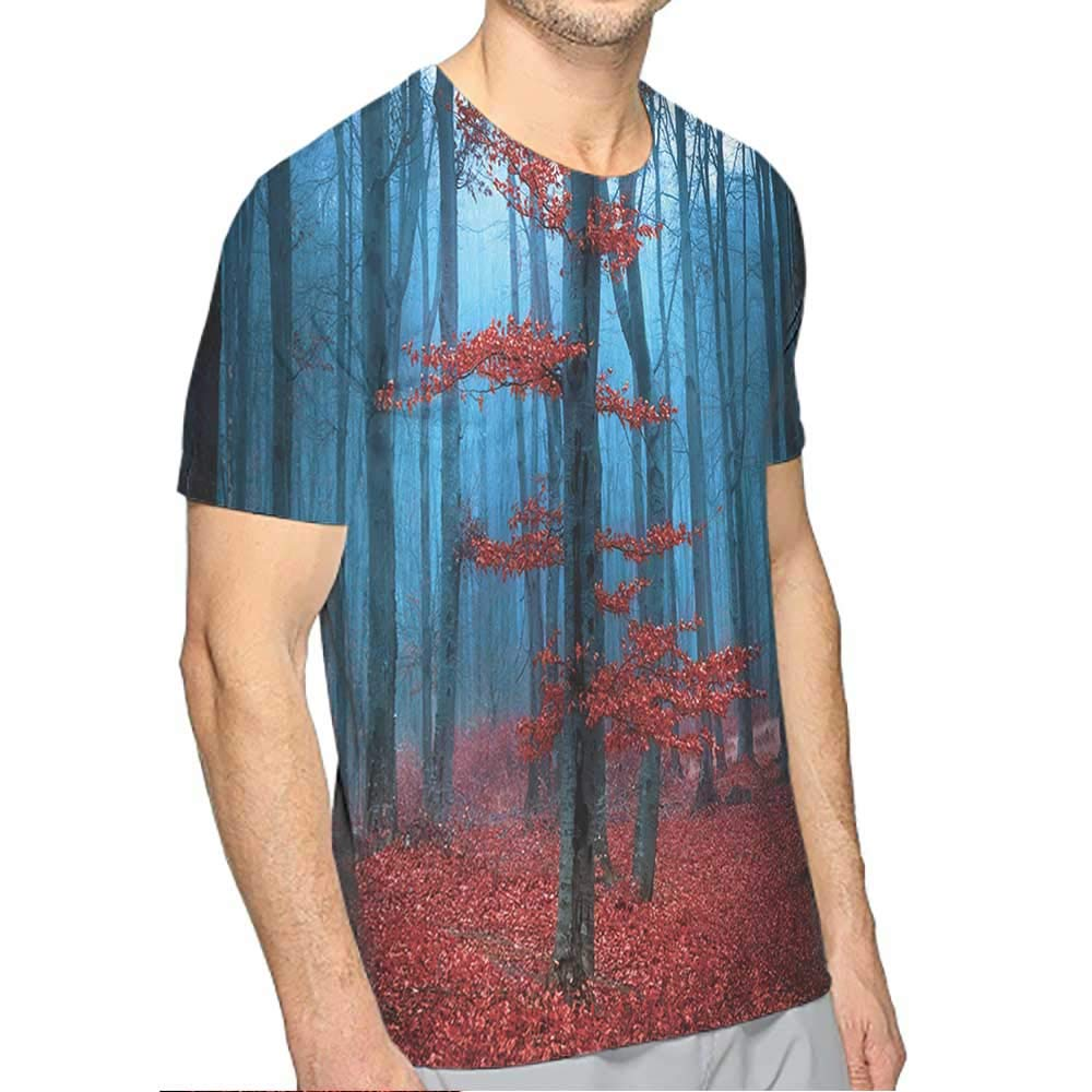 PRUNUS T-Shirt for Men Motorcycle Fashion Mens 3D Top Tees