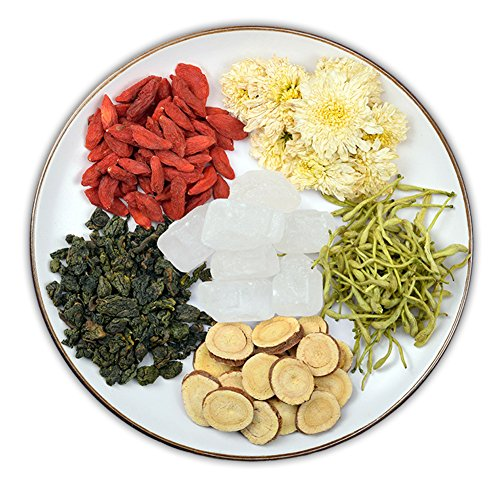Helen Ou@ Flower Tea Combination for Clearing Liver and Lung and Improving the Eyesight