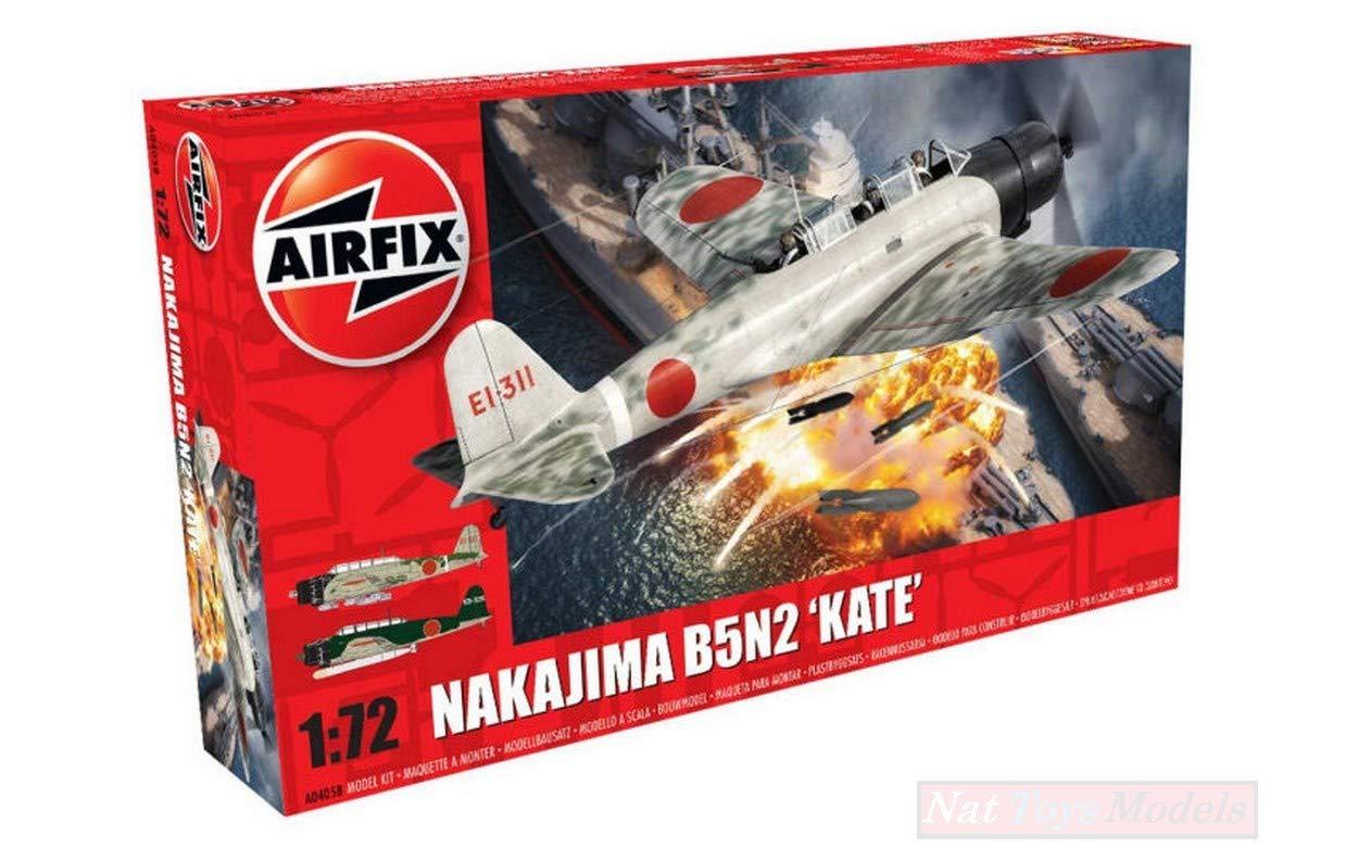 NEW AIRFIX AX4058 NAKAJIMA B5N2 Kate KIT 1:72 MODELLINO Model