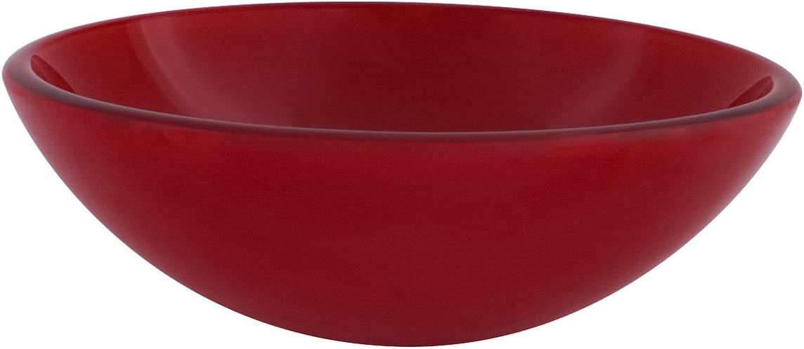 Novatto ROSSO Double Layer Glass Vessel Sink