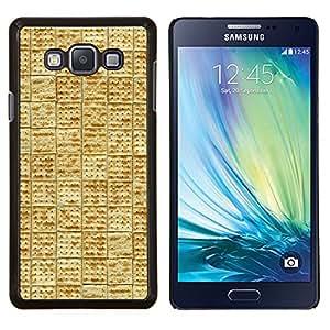 Stuss Case / Funda Carcasa protectora - Modelo de la teja de la galleta de la galleta de Alimentos - Samsung Galaxy A7 ( A7000 )