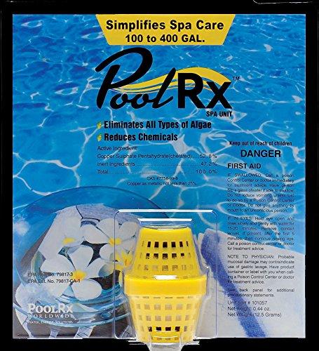 (PoolRx 100-400 Gallon Yellow Spa Unit)