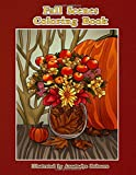 Fall Scenes Coloring Book: Autumn Scenes To Color And Enjoy (Creative and Unique Coloring Books for Adults)