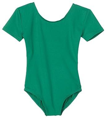 4c24cfebe34e Danskin Girls  Basic Short Sleeve Leotard