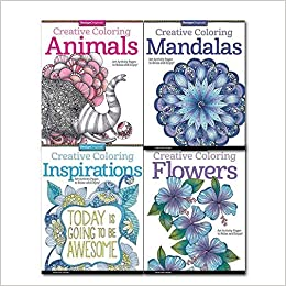 Creative Coloring Collection 4 Books Set By Valentina Harper, (Art ...