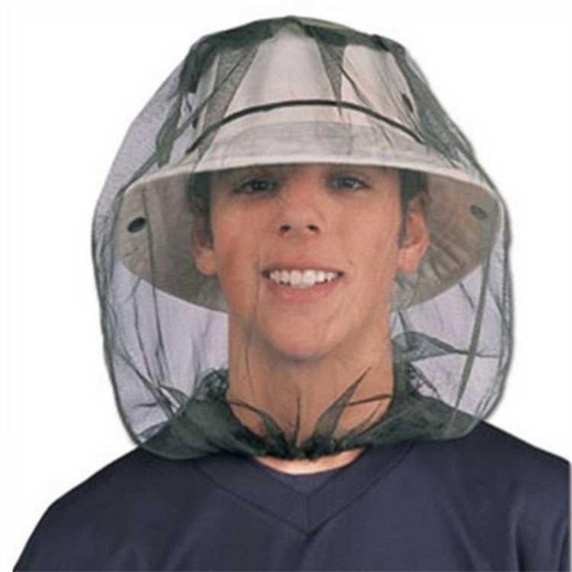 Delicacydex Midge Mosquito Insect Cappello Bug Mesh Head Net Face Cover protettiva per campeggio allaperto Viaggi Backpacking Fishing