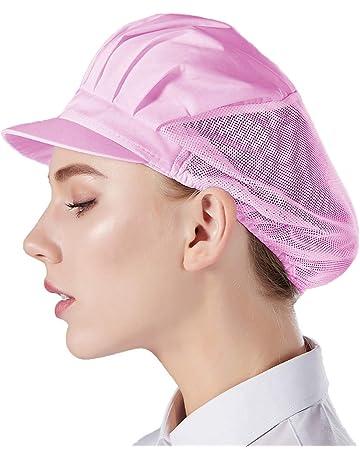 Jiyaru Cappello da Chef Regolabile da Uomo e da Donna Colore Nero