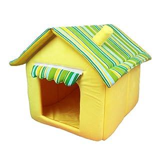YWJHY Perro Gato Casa Pequeña Cama para Mascotas Resistente a la Suciedad Regalo Desmontable Moda